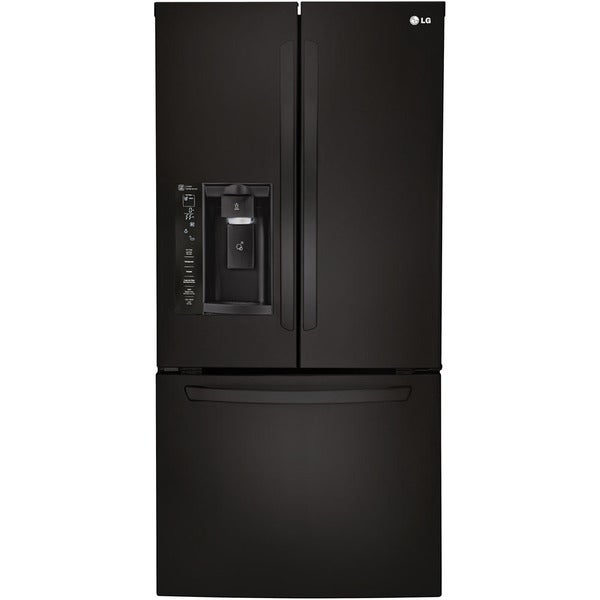 Charmant LG 33 Inch 24 Cubic Foot French Door Refrigerator