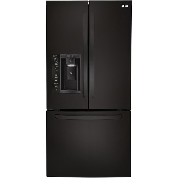 Lg 33 inch 24 cubic foot french door refrigerator free for 18 cubic foot french door refrigerator