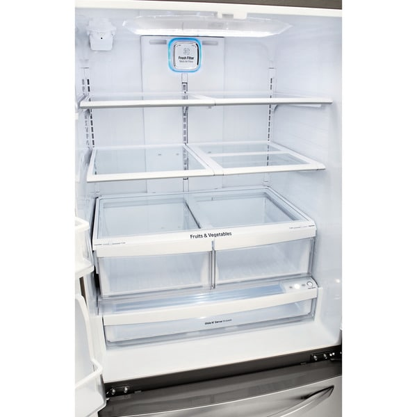 LG 33 Inch French Door Refrigerator   Free Shipping Today   Overstock.com    18441652