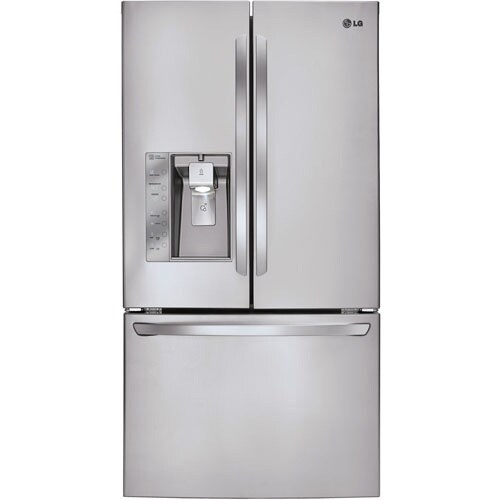 LG 26.6-cubic-foot 36-inch French Door Refrigerator (Stai...