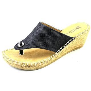 White Mountain Women's 'Beachball' Fabric Sandals