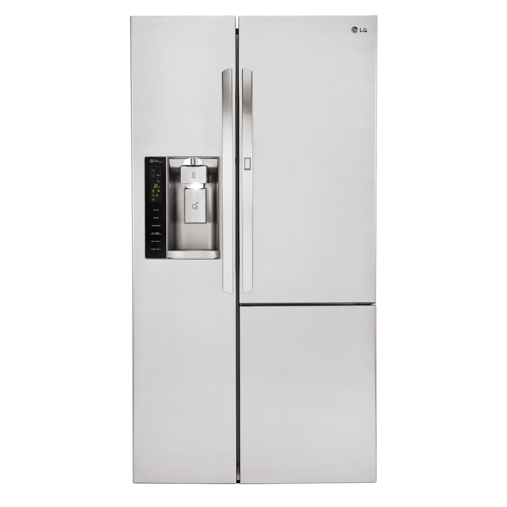LG  36-inch 26-cubic-foot Side-by-Side Refrigerator (STAINLESS STEEL)
