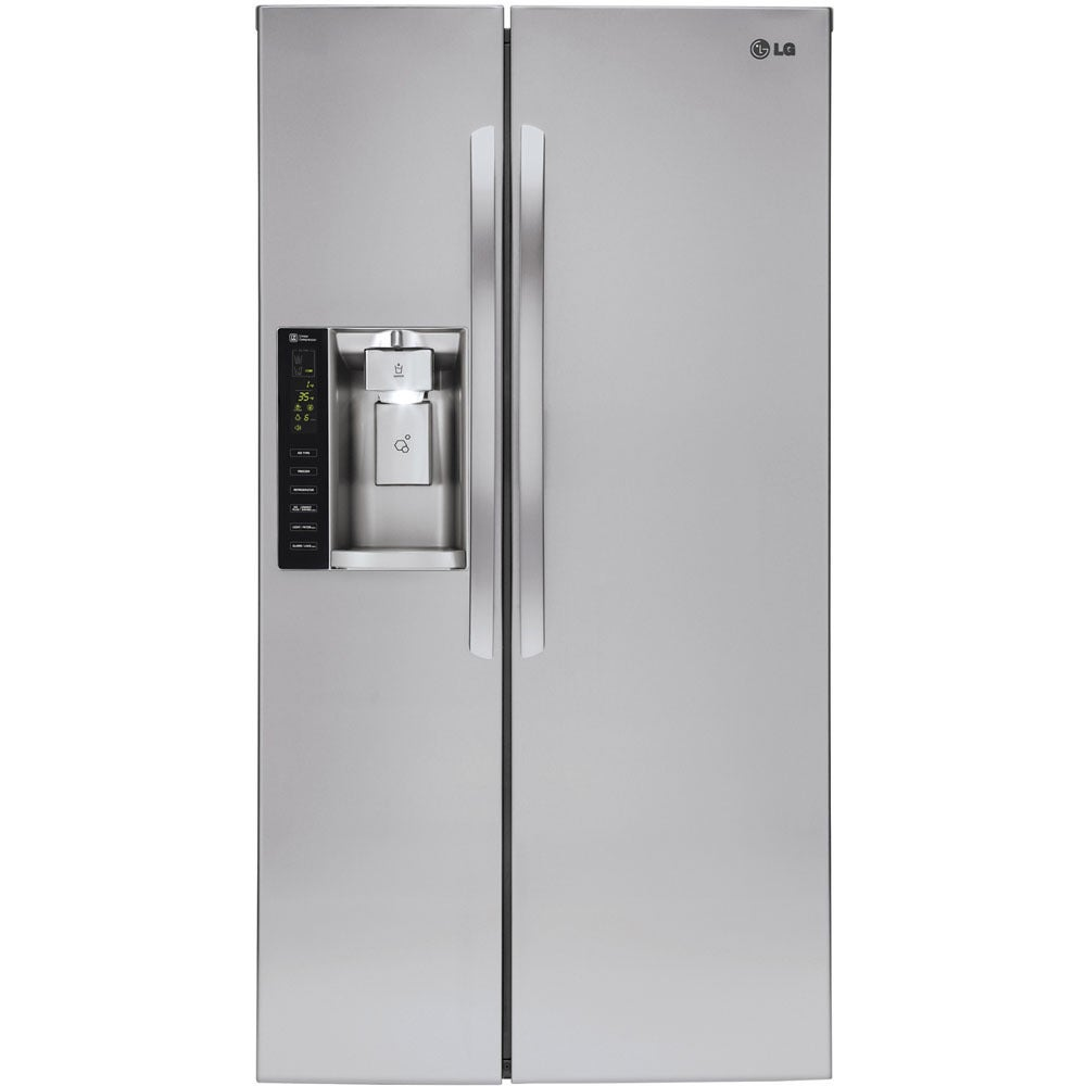 LG  36-inch 26.2-cubic-foot Side-by-Side Refrigerator (STAINLESS STEEL)