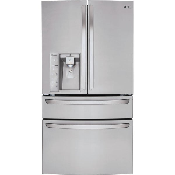 Lg 36 Inch 30 Cubic Foot French Door Refrigerator Free