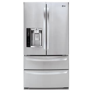 LG 36-inch Freestanding French Door Refrigerator