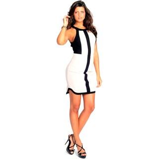 Sara Boo Color Block Sheath Dress