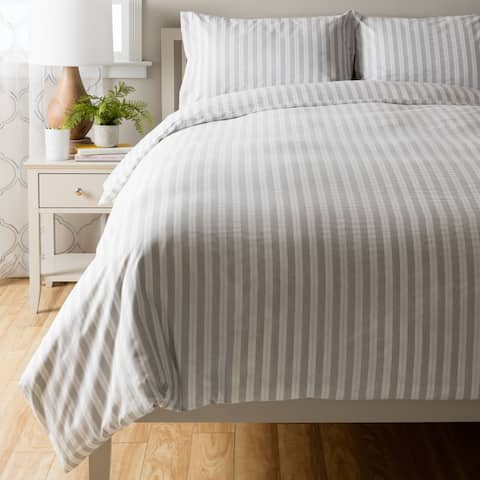 Palmer Cotton Duvet Cover Set
