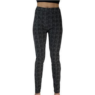 Le Nom Plaid Leggings (One Size Fits Most)