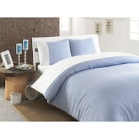 Pamuk Luxury Striped 300 Thread Count Turkish Cotton 5-piece Duvet Cover and Sheet Set