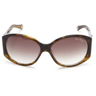 True Religion Madison Smoke Tort Sunglasses - Brown - M