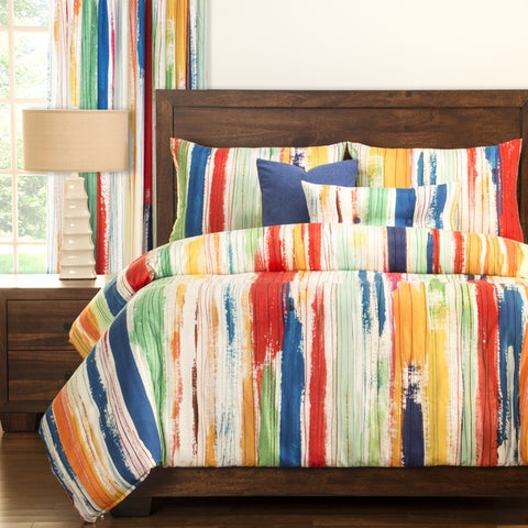 Siscovers Sketchy Stripe 6-piece Duvet Set