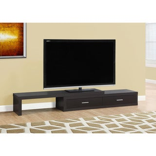 "Expandable Cappuccino 60"" to 98"" L TV Stand"