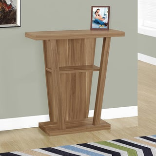 "Accent Table-32""L/Walnut Hall Console"