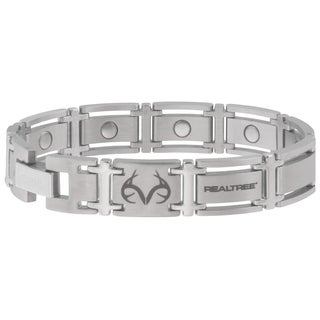 Sabona Realtree Executive Stainless Magnetic Bracelet