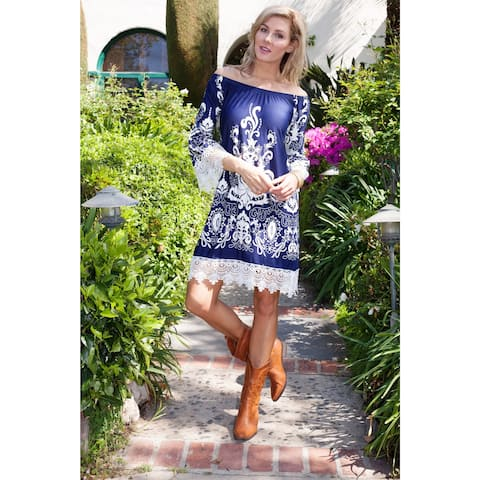 e9a9f690835 Buy Boatneck Casual Dresses Online at Overstock