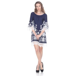 White Mark Women's 'Uniss' Dress
