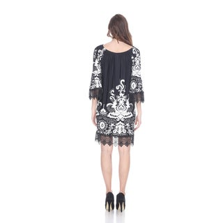 White Mark Women's 'Uniss' Dress