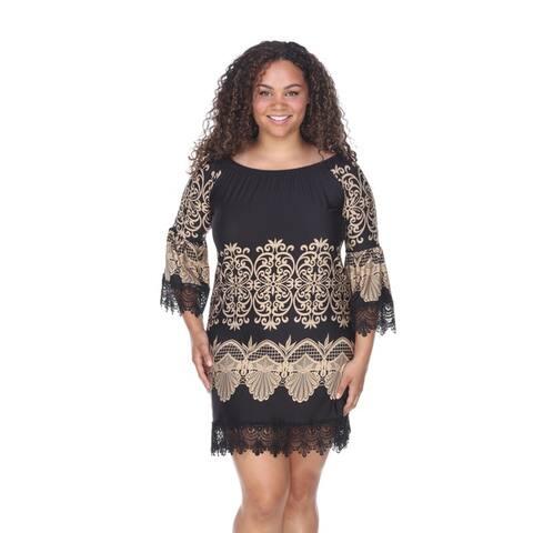 White Mark Women's Plus Size 'Alta' Dress