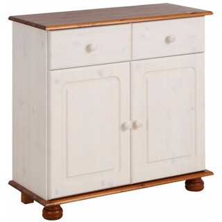 Mette Solid Pine 2-Door, 1-Drawer Sideboard (2 options available)