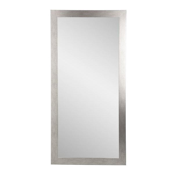 BrandtWorks USA Silver Grain Tall Mirror