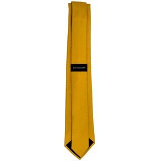 Davidoff 100-percent Silk Gold Neck Tie