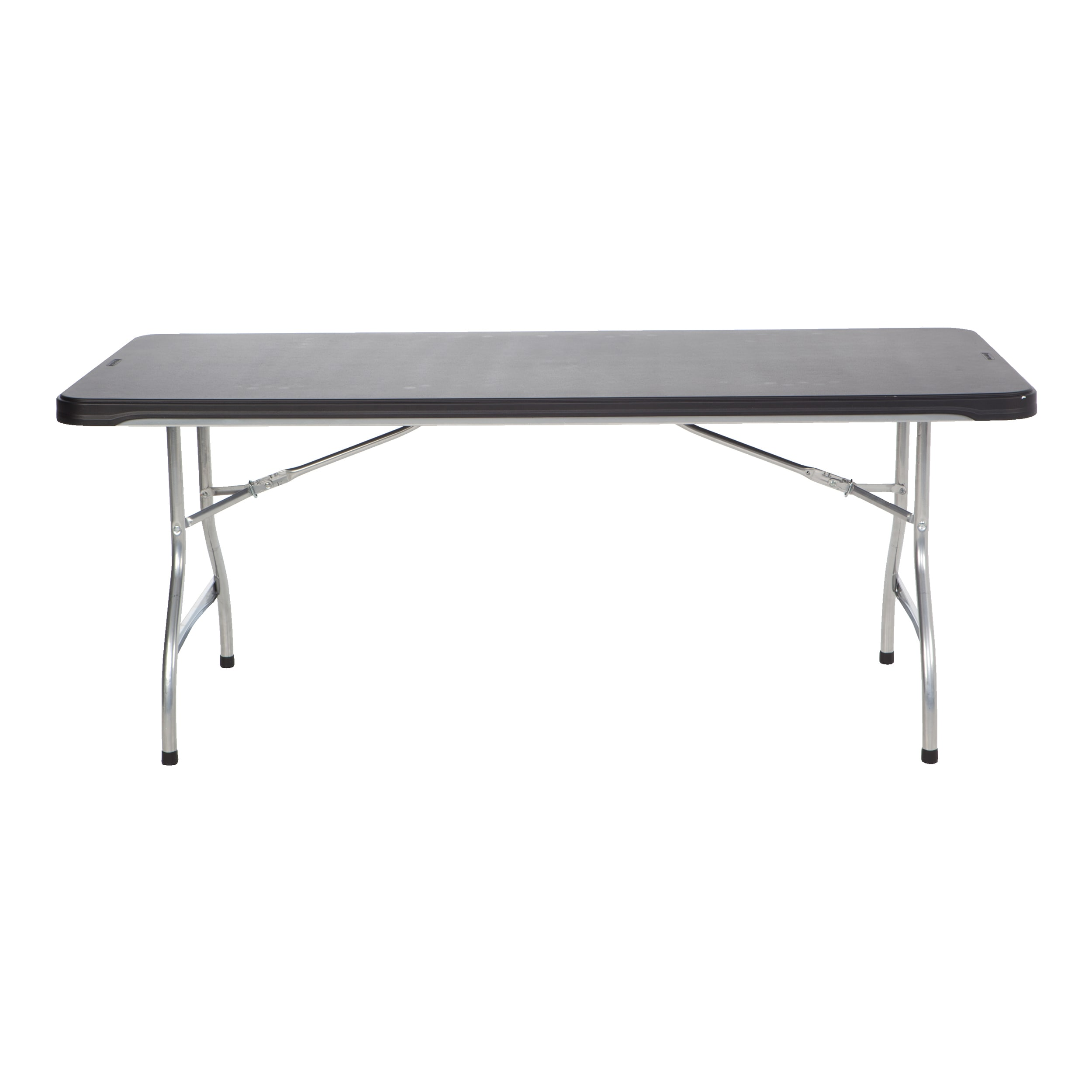 Lifetime Black 6-Foot Commercial Stacking Folding Table (...