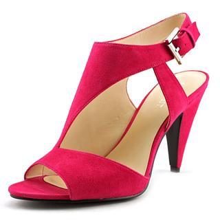 Nine West Women's 'Shape Up' Pink Leather Sandals