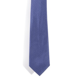 Davidoff 100-percent Silk Blue Diamond Grid Neck Tie