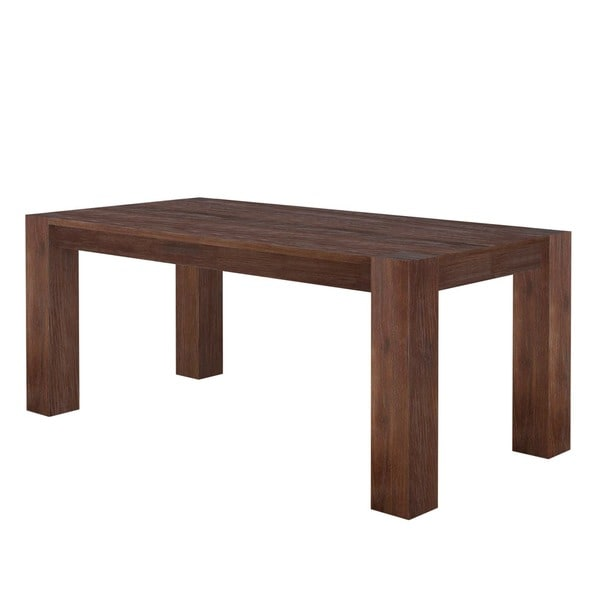 Shop Acacia Wide Leg Large Dining Table Free Shipping