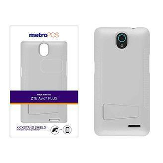metroPCS One Piece Shield Case Cover with Kickstand and S...