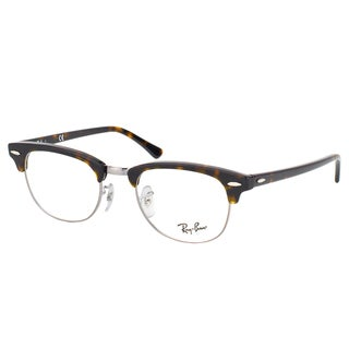 Ray-Ban Clubmaster RX 5154 2012 Dark Havana And Gunmetal Clubmaster Plastic 49mm Eyeglasses