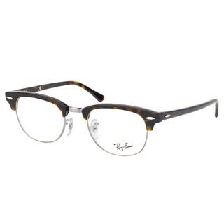 Ray-Ban Clubmaster RX 5154 2012 Dark Havana And Gunmetal Clubmaster Plastic 49mm Eyeglasses