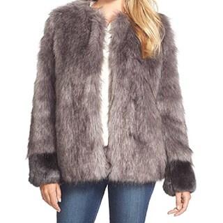 Vera Wang 'Scarlett' Women's Faux Fur Coat