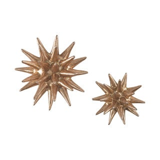 Dimond Home Parsec Gold 4-6 Inch Composite Wall Decor in Copper