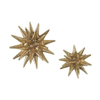 Dimond Home Parsec Gold 4-6 Inch Composite Wall Decor in Gold