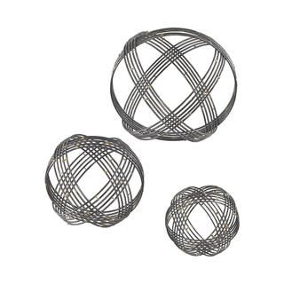 Dimond Home Warp Wall Decor in Soldered Raw Iron - Set of 3 https://ak1.ostkcdn.com/images/products/11489655/P18443060.jpg?impolicy=medium