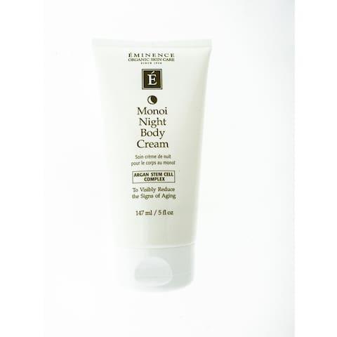 Eminence Monoi Age Corrective Night 5-ounce Body Cream