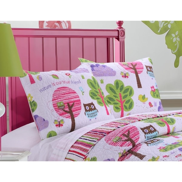 Greenland Home Fashions  Woodland Girl Pillow Sham Set