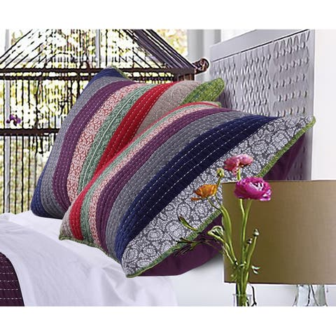 Greenland Home Fashions Marley Pillow Sham Set (Set of 2)