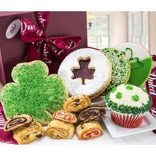St. Patrick's Gourmet Cookies and Treats Signature Gift Box