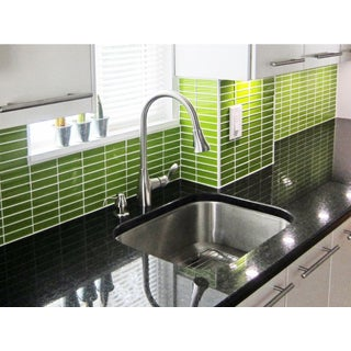 Lush 1x4 Lemongrass Green Glass Subway Tile