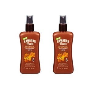 Hawaiian Tropic Protective SPF 8 Tanning Pump 6.8-ounce Lotion