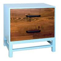 Porthos Home Helena Double Drawer Nightstand