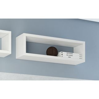 Accentuations by Manhattan Comfort Tichla Rectangle Floating Shelf 2.0