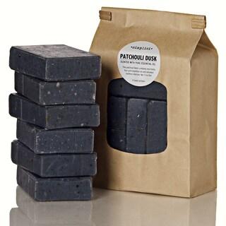 Simplici Patchouli Dusk Charcoal Soap Value Bag (6 Bars)