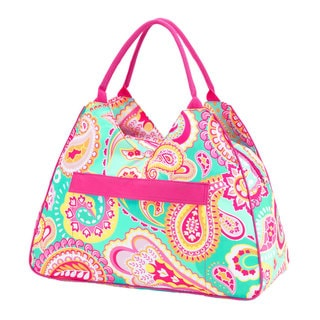 Summer Paisley Beach Bag