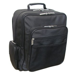 Link to Amerileather CEO Black Leather Backpack Similar Items in Backpacks