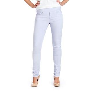 Bluberry Women's Lavender Skinny Jeans