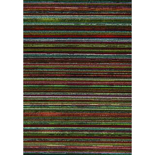 Stencil Multi Stripes Rug (2' x 3'7)