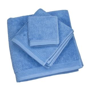 Austin Horn Classics Townsend Blue Terry Cotton Towel Set
